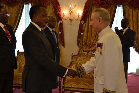 El estratega Jean Pierr Vidon nuevo embajador en la República del Congo