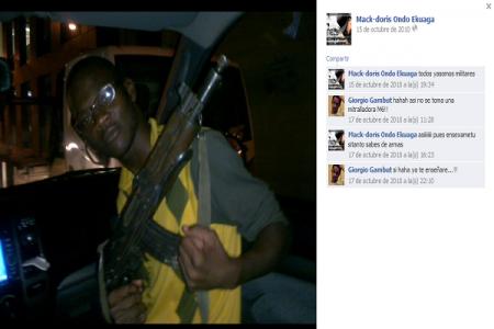 Mac Doris Ondo Ekuaga (GTB) mata a Timoteo Bacale en un accidente de coche