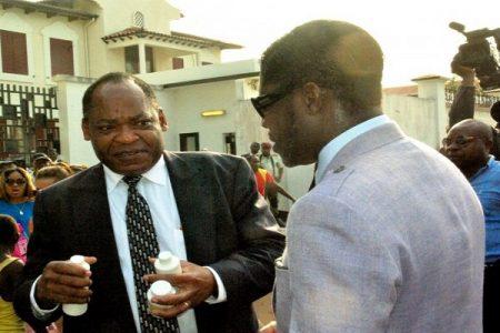 Nguema Onguene pudo haberse reunido con la CORED en París?