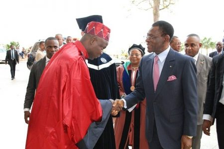 Bertin Koovi Director Ejecutivo del Doctorado Honoris Causa de Obiang Nguema