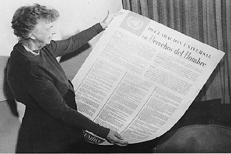 Declaración Universal: I. EL DERECHO A LA IGUALDAD ANTE LA LEY