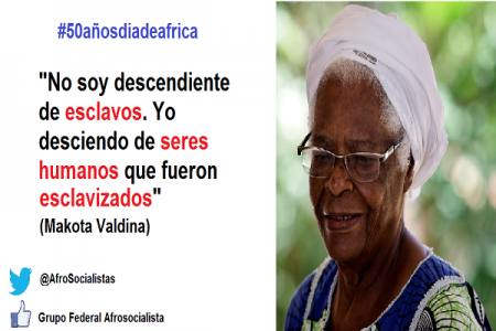 El Grupo Afro Socialista del PSOE reivindica el día de África