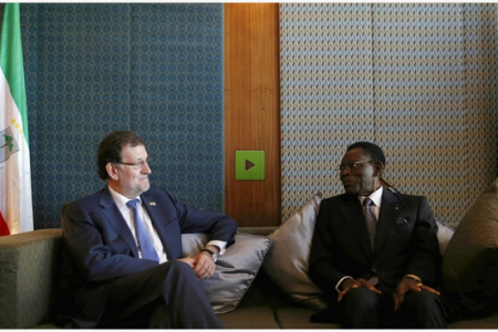 Obiang manda un mensaje alto y claro «hay que dar paso a los jóvenes»