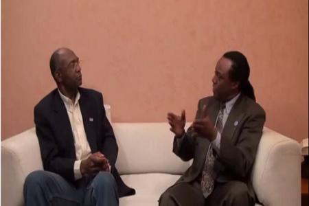 Exilio: Entrevista de Sango a Mbôkâ tv a Don Rafael Evita Ika