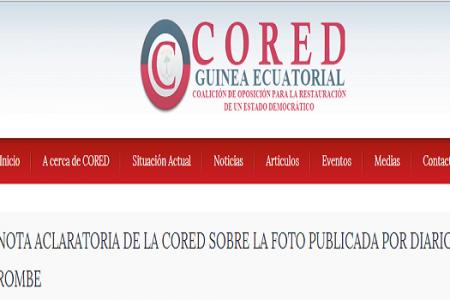 NOTA ACLARATORIA DE LA CORED SOBRE LA FOTO PUBLICADA POR DIARIO ROMBE