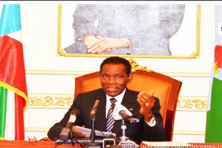 """Obiang """"el que tiene un pequeño percance y no pueda entrar en el país, que lo solicite"""""""