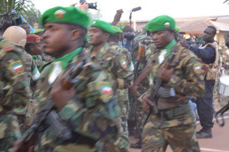 """Manuel Mbela Bama """"""""hay una mano negra contraria al estacionamiento de nuestra fuerzas en Centroáfrica"""""""