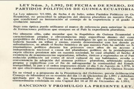 PUEDEN DESCARGAR LA LEY DE PARTIDOS POLÍTICOS EN DIARIO ROMBE