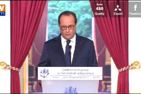 """Hollande """"He dado la orden de instalar un Hospital Militar en Guinea Ecuatorial"""""""