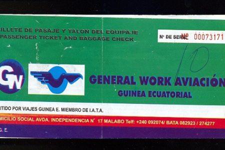 """APARICIÓN Y DESAPARICIÓN  EN GUINEA ECUATORIAL DE LA EMPRESA """"GENERAL WORK S.L"""
