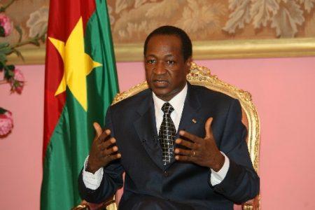 Blais Campaoré podría estar detenido a la espera de que Francia le salve la vida