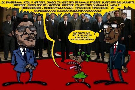 De Obiang Nguema a Nguema Obiang, pasando por Guinea.