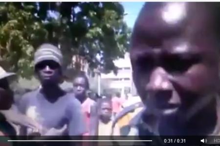 Vídeo: Jóvenes revolucionarios Burkinabés advierten a los presidentes africanos