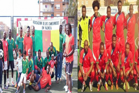 Nzalang Valencia y la Asociación de Camerunesa Valencia jugarán un Partido Amistoso