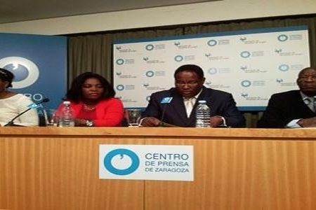 "Nse Obiang cancela su viaje previsto hoy a Guinea por ""falta  de billetes"""