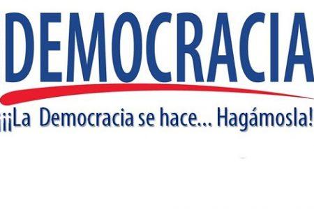 El MUNDO BUSCA DEMOCRACIA