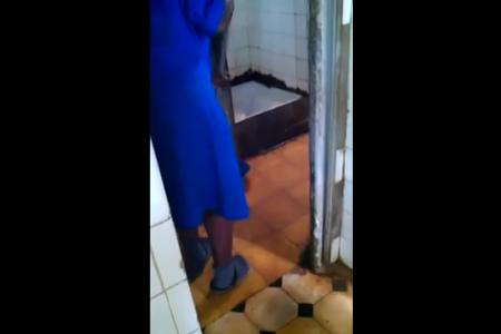 Aterrador vídeo del Hospital Regional de Malabo. Qué Horrible!!! Año 2014!!!