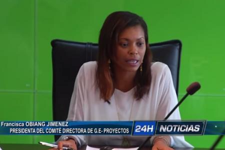 """Francisca Obiang """"El Gobierno de Guinea se declara en suspensión de pagos con las empresas"""""""
