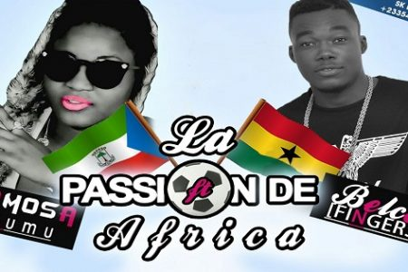 Famosa Nkumu compone una canción para la Copa de África de Naciones