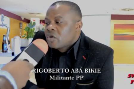 """Rigoberto Abá Bikie """"el que muere por enfermedad en Guinea muere como un cabrón"""""""