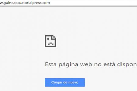 Cae la web del Gobierno de Guinea Ecuatorial gestionada por CENTAURO