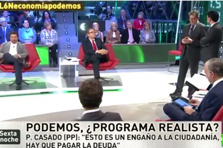 """Juan Torres deja en evidencia la ignorancia de los tertulianos de """"La Sexta Noche"""""""