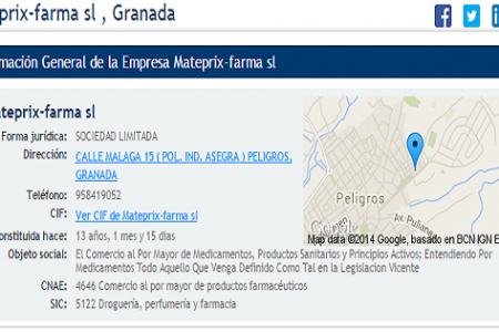 Mateprix, el almacén de Granada (España) vendía medicamento ilegalmente a Guinea Ecuatorial