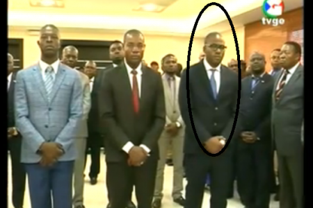 Carmelo Ovono Obiang nombrado Secretario de Estado Encargado de Seguridad Nacional
