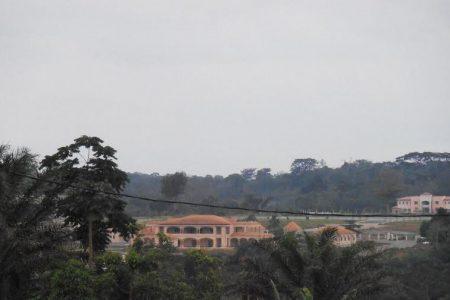 La residencia privada de Teodoro Obiang Nguema  y Constancia Mangue en Nsork