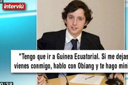 "Estafa fracasada del ""pequeño Nicolás"" en Guinea Ecuatorial (Elpais.com)"