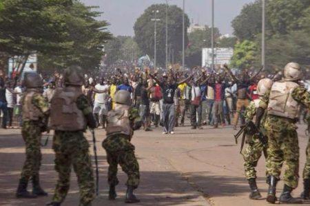 Los manifestantes exigen la salida del poder de Joseph Kabila Kabange