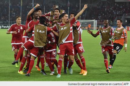 """Guinea Ecuatorial y Congo clasificados a """"cuartos"""" en la CAN 2015"""