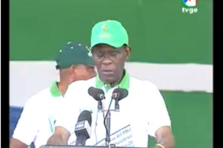 """Obiang Nguema """"hay que vigilar a los extranjeros en Guinea Ecuatorial"""""""