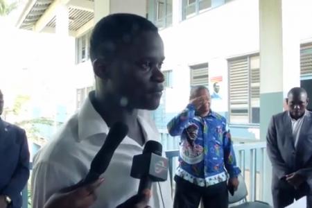 """Vídeo: Estudiante de Bioko Norte """"rechazamos la violencia en Guinea Ecuatorial"""""""