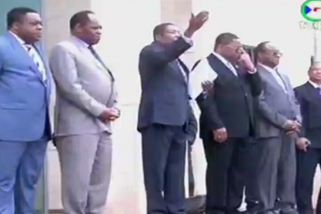 "Ndong Nsue ""El Presidente os libera porque no quiere que nadie sufra en Guinea Ecuatorial"""