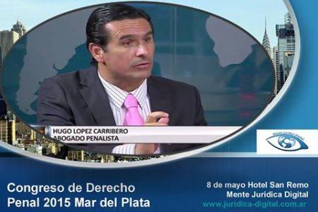 HUGO LOPEZ CARRIBERO EN BUENOS AIRES