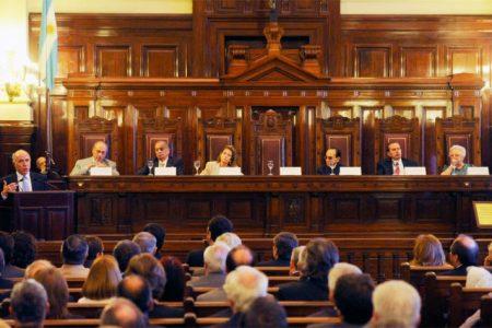 Pelea en el Poder Judicial de Argentina