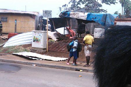 """Incendio en el barrio la Paz """"por una explosión de bombona de Butano"""""""