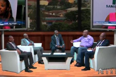Vídeo: Ridículo debate emitido por la televisión de Nguema sobre el caso Ébola