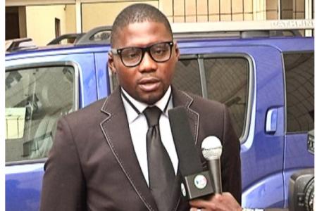 Diallo Coulibaly encabezó en Estados Unidos una manifestación en favor de Nguema Obiang