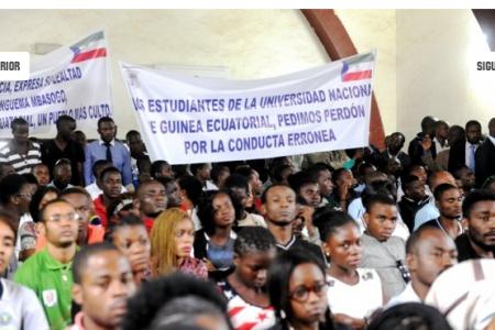 Obiang no quiere profesores críticos en la UNGE