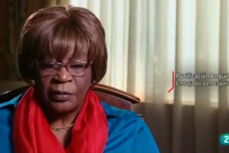 Vídeo: Angué Ondo justifica la construcción de Oyala «por miedo al Tsunami»