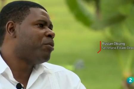 """Ruslan Obiang """"mi padre lleva más de 35 años en el poder, señores es lo que hay"""""""