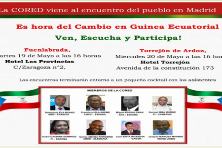 La CORED-Raimundo convoca dos reuniones en Madrid el 19 y 20 de mayo