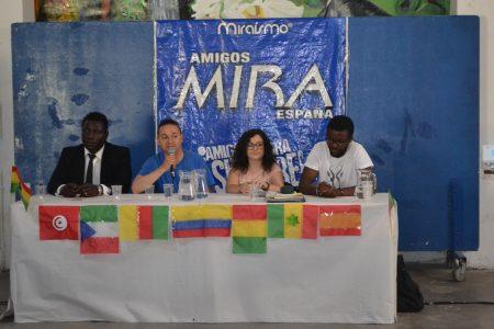 Una representación de DR asiste a la conmemoración del día de la diversidad cultural