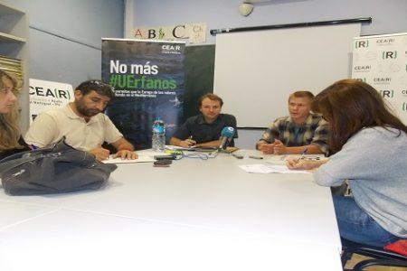 Jaume Durá Coordinador del CEAR presena en Valencia el informe anual 2015