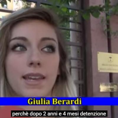 «Libertad para Roberto Berardi» – Giulia Berardi y Rossella Palumbo