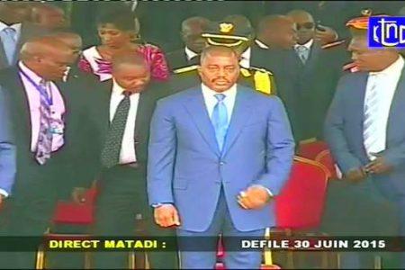 Signo de tiempos de aislamiento político del presidente Joseph Kabila