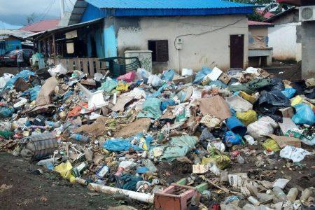 Los ciudadanos del Barrio Camaremi llevan dos meses viviendo con la basura