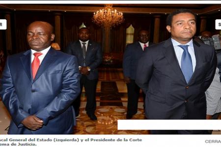 La Justicia del más fuerte, justicia Guineoecuatoriana